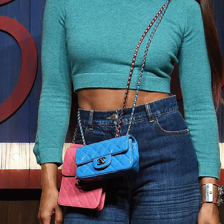 Crystal Kay's two Chanel Flap Bags