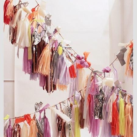 Whitney Port - wedding inspiration - planner - colourful decorations - handbag.com