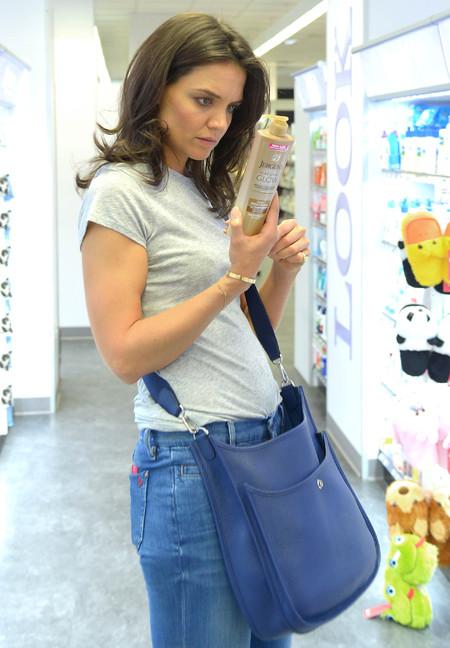 katie holmes - gradual tan - hermes bag - evelyne III - shopping news - shopping bag - handbag.com