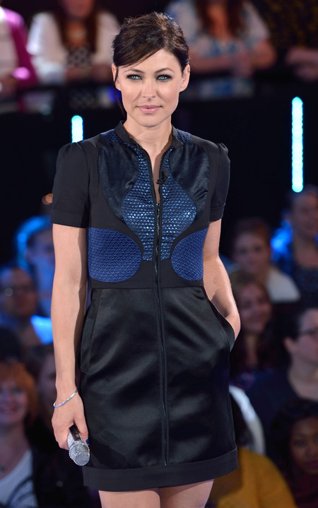 emma willis - big brother launch - black mini dress - shopping news - shopping bag - handbag.com