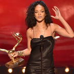 Rihanna moves on from the naked dress