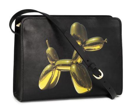 jeff koons for h&m balloon dog bag - jeff koons for h&m - shopping bag - handbag