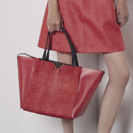 Armani resort collection handbags - striped clutch - designer handbags - handbag shopping - news - shopping bag - handbag.com