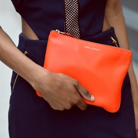 Best Instagram pictures of handbags - comme des garcon clutch bag - natsha ndlovu - handbag.com