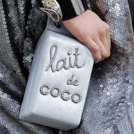 Chanel handbag aw14 - style - handbags up close - fashion collection - autumn/winter 2014 - shopping bag - handbag.com