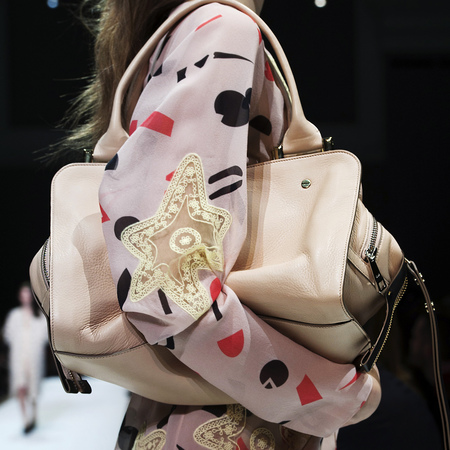 Chloe AW14 cream bag