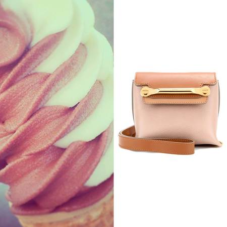 Get handbag shopping inspiration from handbags - handbag ice cream flavours - summer handbags - brown handbags - handbag shopping - shopping bag -handbag.com