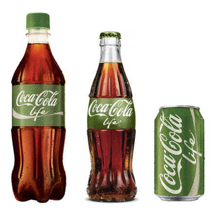 Coke Life to launch in UK - sugar free healthy coke - fizzy drinks news - gym bag news - handbag.com