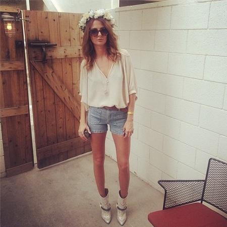 Millie Mackintosh at Coachella 2014