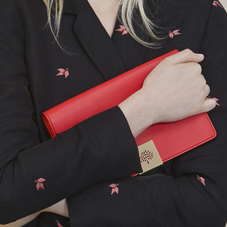 mulberry-spring summer 2014-handbag collection-red campden clutch bag close up-handbag.com