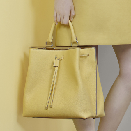 Yellow Mulberry handbag