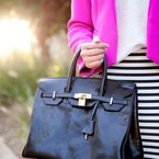 Instagram shows off handbags in the sunshine