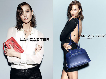 Lancaster AW14 bags - Karlie Kloss models bags - new video - shopping news - shopping bag - handbag.com
