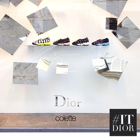 dior fusion trainers - dior latest designer to do sneakers - shopping bag - handbag