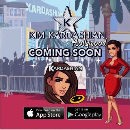 Kim Kardashian designs new app - celeb news - day bag - handbag.com