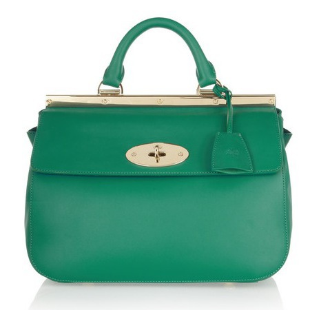 mulberry green bag - best green handbags - shopping bag - handbag
