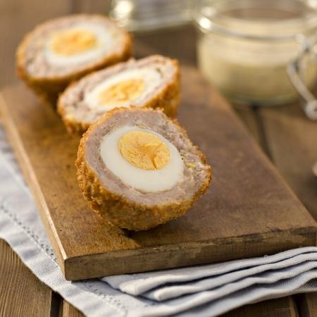 Rachel's scotch eggs with honey mustard dipping sauce recipe - recipes - day bag - handbag.com