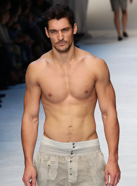 David Gandy male model - David Gandy launching own line of underwear - underwear model - lingerie model - topless men - David Gandy pics - shopping news - handbag.com