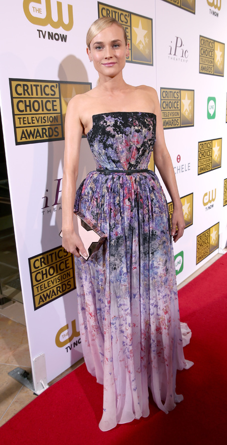 Diane Kruger at the Critics Choice Awards 2014