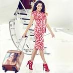 Get personalised luggage like Kelly Brook