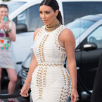 Kim K reworks her wedding dress