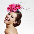Fool proof guide to wearing a wedding hat