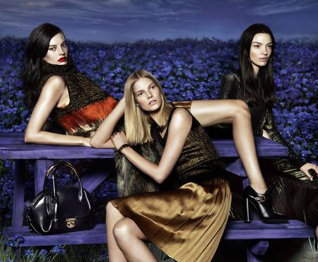 Salvatore ferragamo AW15 campaign - black bags - shopping bag - handbag