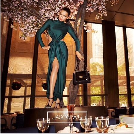 adriana lima for jason wu modelling fall 2014 campaign - celeb fashion news - shopping news - shopping bag - handbag.com