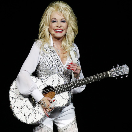 Dolly Parton performing on stage - songs by Dolly Parton to get you through life - life advice from Dolly Parton - life features - day bag - handbag.com