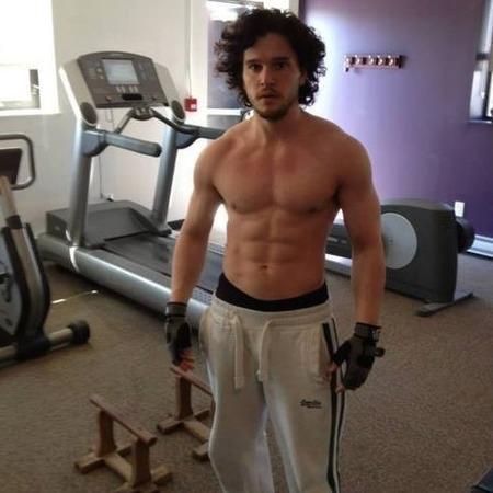 Kit Harrington from Game of Thrones topless picture - hot topless celebs - naked men pics - day bag - handbag.com