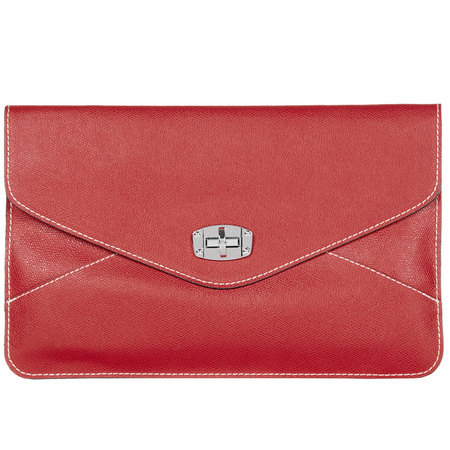 Lemiena Envelope Clutch Red - best red bags - shopping bag - handbag