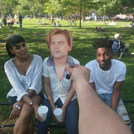 My day with leo - instagram - tumblr - leonardo dicaprio 90s cut outs - handbag.com