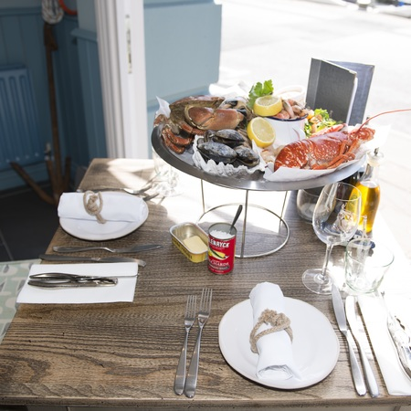 The boatyard  - restaurant -  isle of man - travel review - travel feature - handbag.com