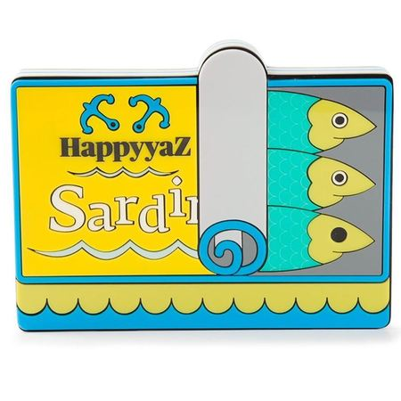 yazbukey sardines clutch - bags that look like food - shopping bag - handbag