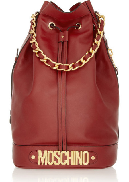 Moschino red bag - best red bags - shopping bag - handbag