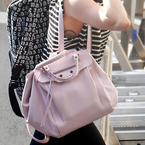 Miley Cyrus we want your Balenciaga bag