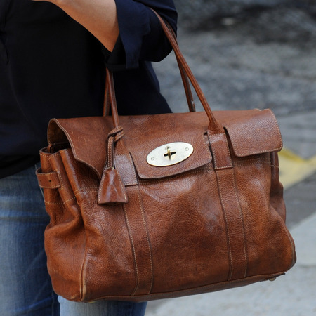 Loose Women presenter Andrea McLean's brown Mulberry bag