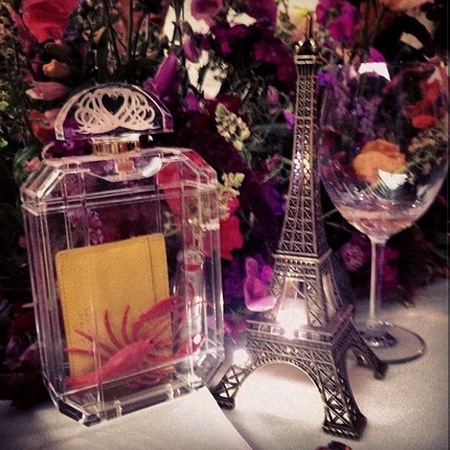 Charlotte Olympia clear clutch bag - perfume bottle - what to put in see-through bag - handbag.com