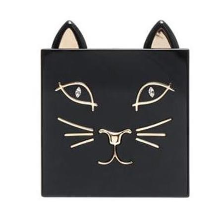 charlotte olympia kitty clutch - best animal shaped handbags - shopping bag - handbag