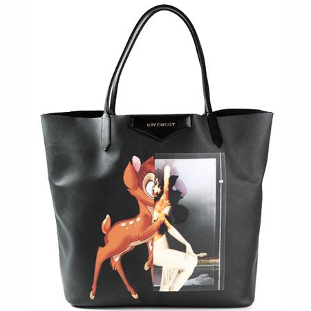 givenchy bambi antigona tote handbag-designer handbags-disney cartoons-fashion trends-classic handbags-it bags copy-handbag.com