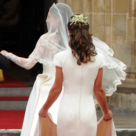 Pippa Middleton at the Royal Wedding - Pippa Middleton interview - Kate Middleton's sister - royal wedding - Kate Middleton wedding dress - Pippa launching TV career - celeb news - handbag.com