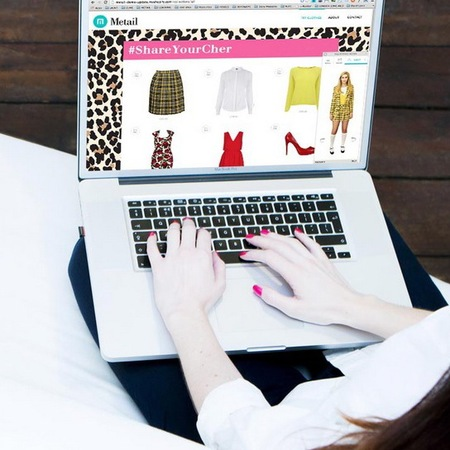 shareyourcher with metail app - cher from clueless closet is now a reality - shopping bag - handbag