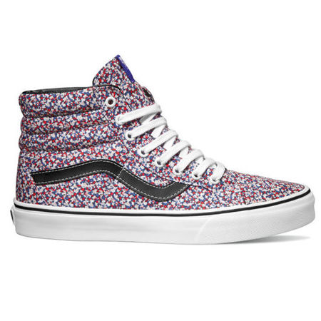 vans liberty art fabric collaboration - best designer trainers - gym bag - handbag