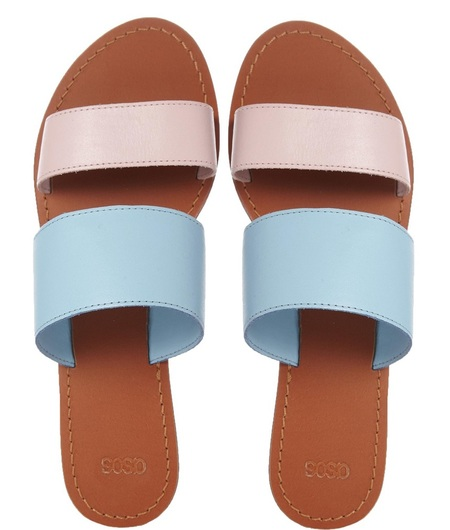asos pastel sliders - get glam slider sandals - like beyonce from high street - shopping feature - handbag.com