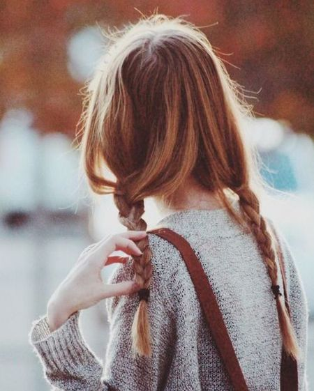 Summer hairstyle ideas - the updated top know -  plaited hair - centre parting - celebrity hair styles - summer hair - handbag.com