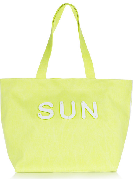 koku sun yellow tote- best yellow bags to buy now - shopping bag - handba