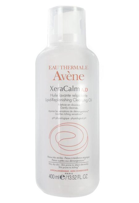 Avene xeracalm oil - best beauty products for eczema - beauty bag - handbag