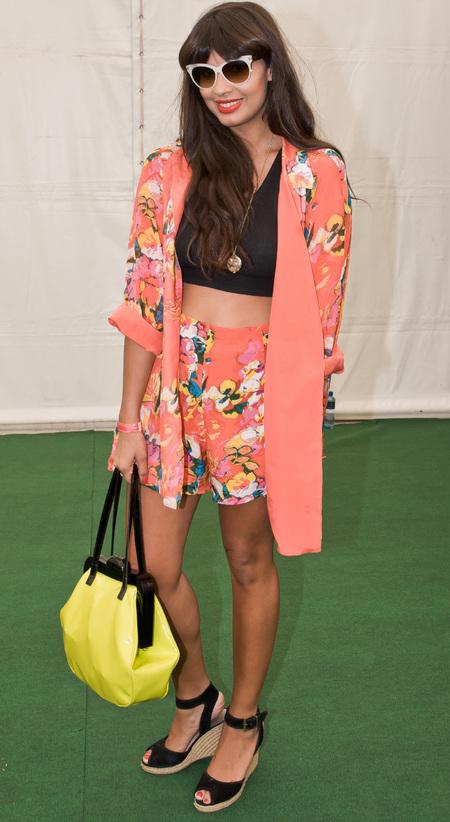 Jameela Jamil at Wireless 2014