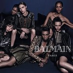 Rihanna snubbed in new Balmain campaign?