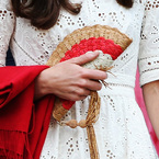 Kate Middleton keeps cool with Anya Hindmarch